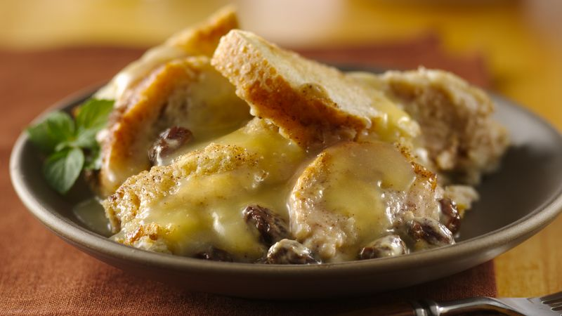 Bread pudding with whiskey sauce recipe bettycrocker bread pudding with whiskey sauce forumfinder Images