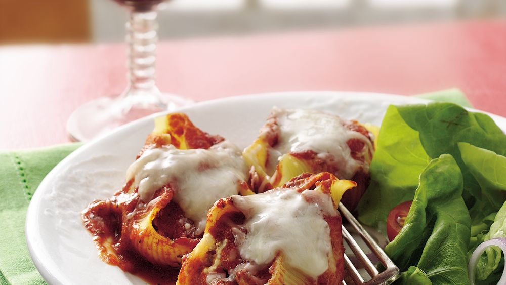 Sausage-Stuffed Pasta Shells