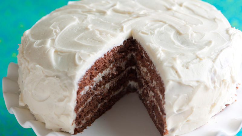 Chocolate cherry beer cake recipe