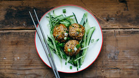 Freezer-Friendly Teriyaki Chicken Meatballs