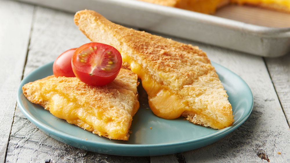 Sheet-Pan Crescent Grilled Cheese