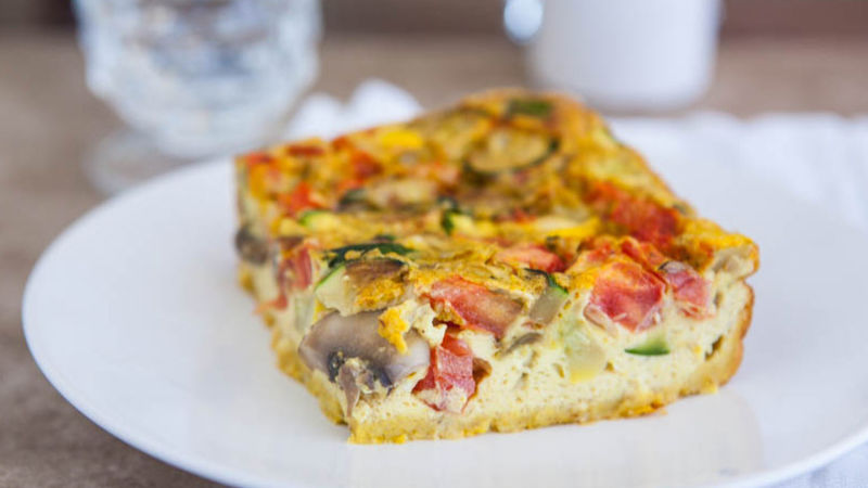 Spicy Egg Bake