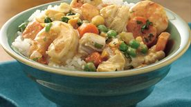 Slow-Cooker Thai Chicken and Shrimp