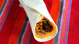 5 Layer Beef Burrito