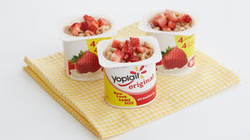 Strawberry O's Yogurt Cup