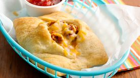 Taco-Stuffed Crescent Pockets