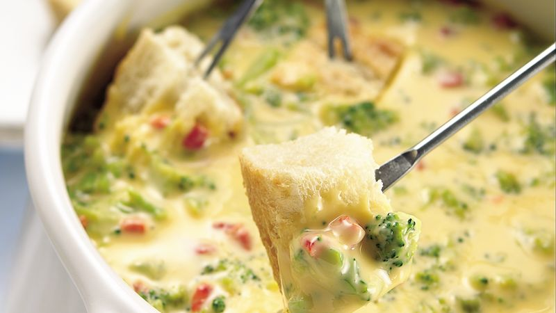 Appetizer Beer-Cheese Fondue