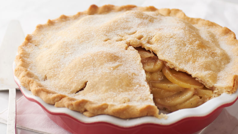Scrumptious Apple Pie Recipe Bettycrocker Com