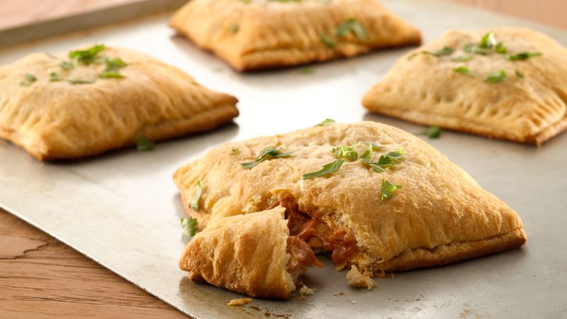 BBQ Chicken Crescent Pockets