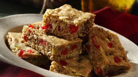 Rum Raisin Bars