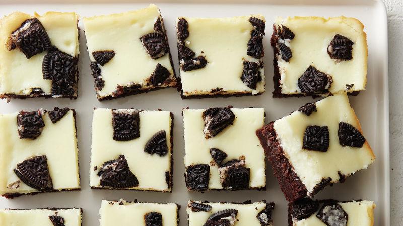 5-Ingredient Oreo Cheesecake Brownie Bars