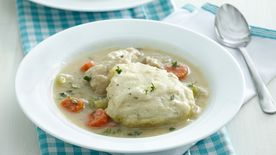Pressed for Thyme Chicken and Dumplings