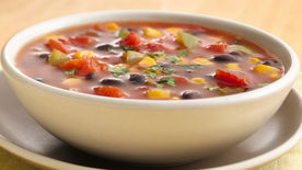 Quick Corn and Black Bean Soup