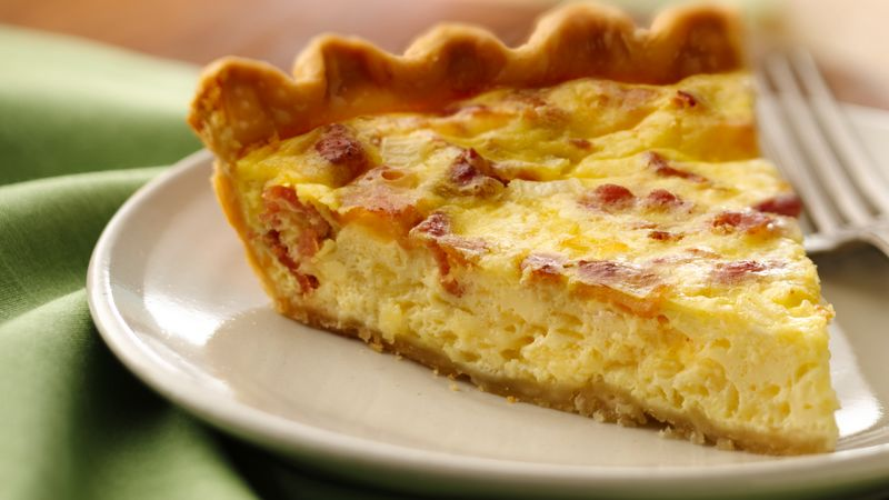 Easy ham and cheddar quiche recipes