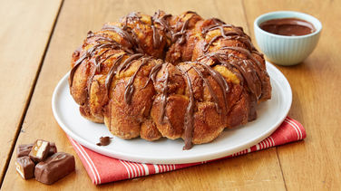 Snickers™-Stuffed Monkey Bread