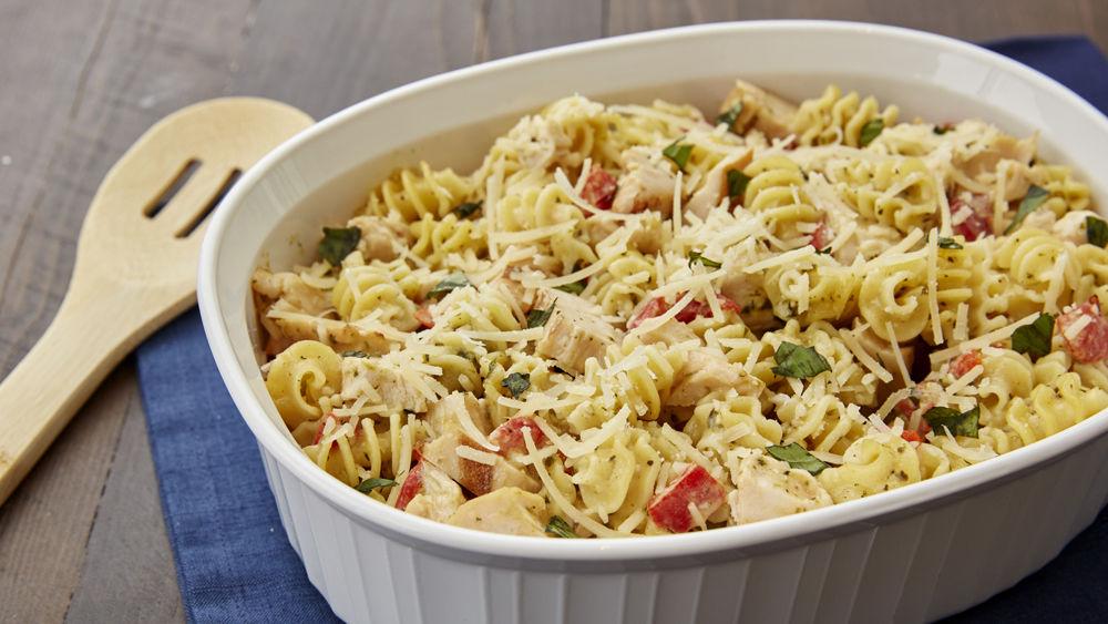 Creamy Pesto-Chicken Casserole recipe from Pillsbury.com