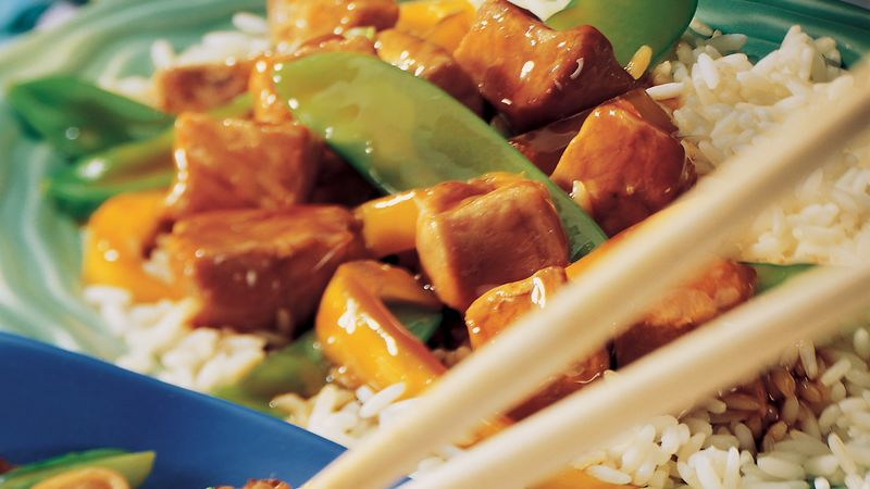 Ginger Teriyaki Pork