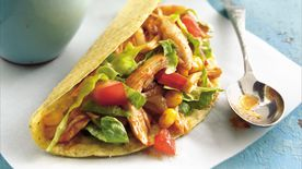 Slow-Cooker Chile-Chicken Tacos
