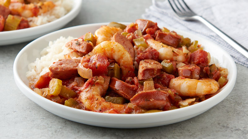 Slow cooker jambalaya recipe bettycrocker slow cooker jambalaya forumfinder Images