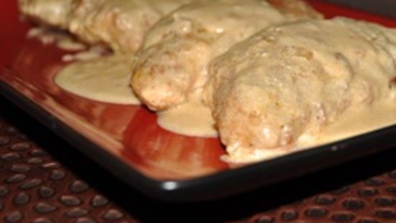 Chicken Breasts with Chablis Cream Sauce