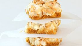 White Chocolate Macadamia Nut Bars