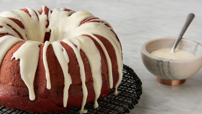 Easy Red Velvet Pound Cake