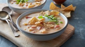 Slow-Cooker Chicken Taco Chowder