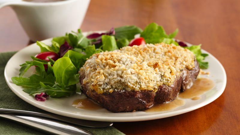 Prime Rib Eye Steaks with Savory Beef Gravy
