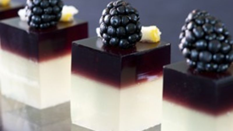 Bramble Jello Shots