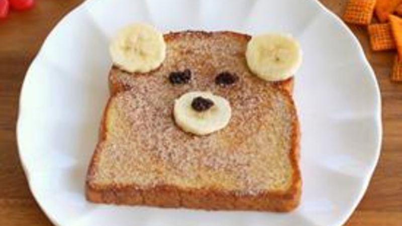 Teddy Bear Sandwich