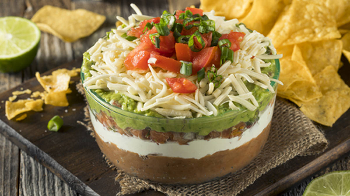Five Layer Mexican Dip (Gluten Free)