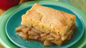 Cornbread-Apple Cobbler