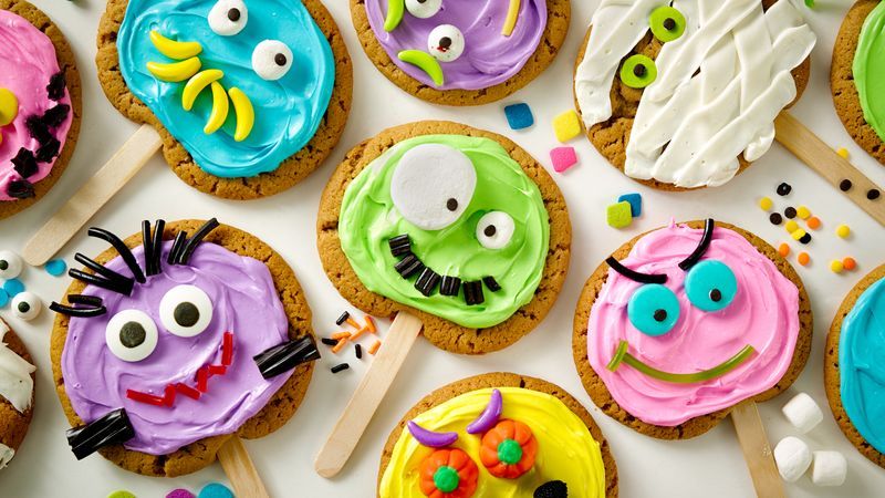 Monster Cookie Pops