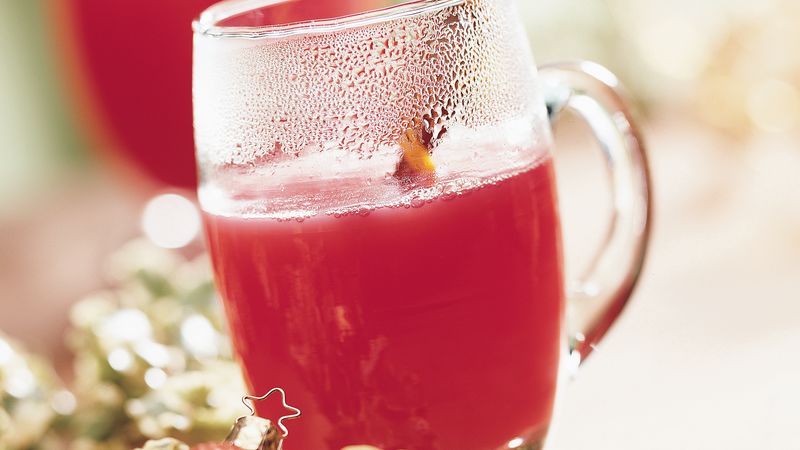 Warm Cinnamon Orange Cider