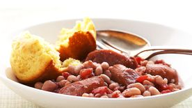 Slow-Cooker Italian Sausage and Beans