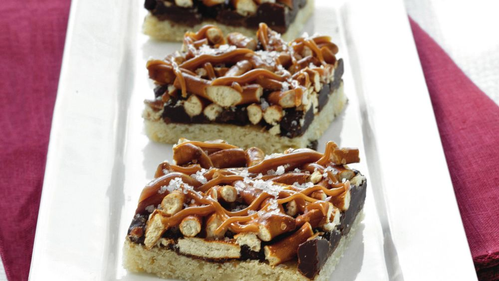 Sweet-and-Salty Truffle Bars