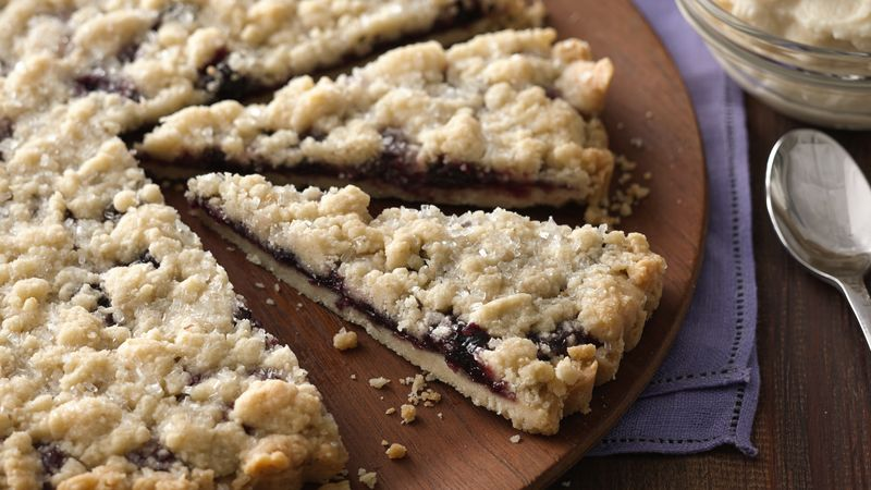 Berry Filled Shortbread Brunch Tart