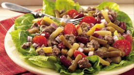 Beef and Three-Bean Salad