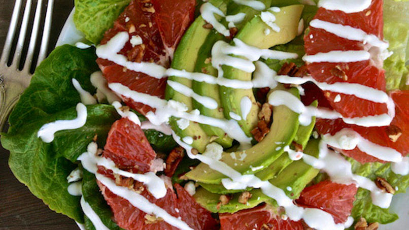 French Grapefruit Salad