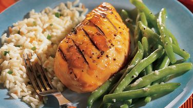 Grilled Teriyaki-Apricot Chicken