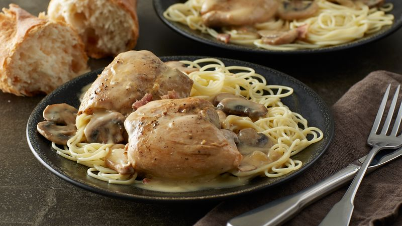 Slow-Cooker Smothered Chicken