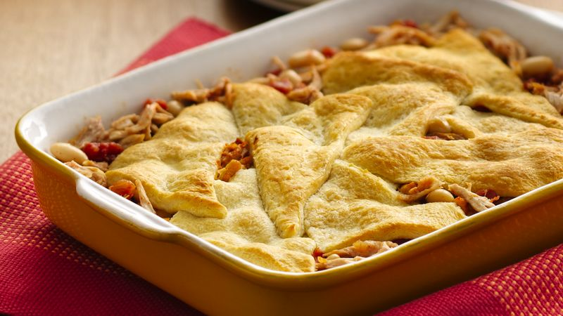 Chicken-Chili Crescent Bake