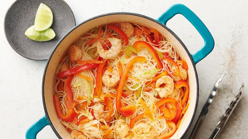 One-Pot Shrimp Pancit