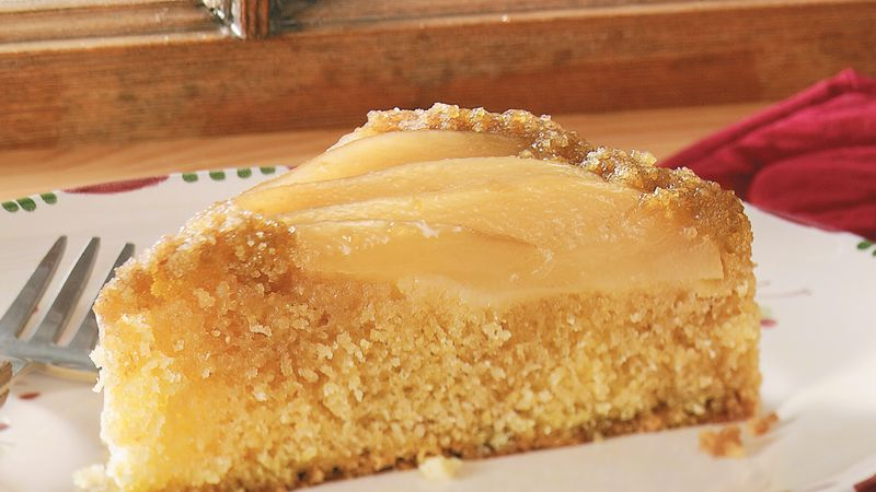 Classic Pear Upside-Down Cake