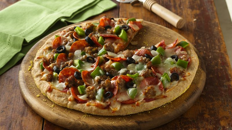 Hearty Meat Lover's Pizza