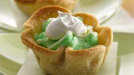 Lime Cooler Mini Ice Cream Pies