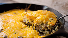 Simple Cheeseburger Frittata