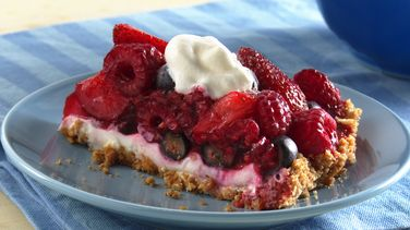 Mixed-Berry Cream Tart