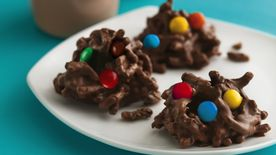 No-Bake Chocolate Cereal Drops