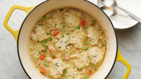 Creamy Chicken and Thyme Dumplings